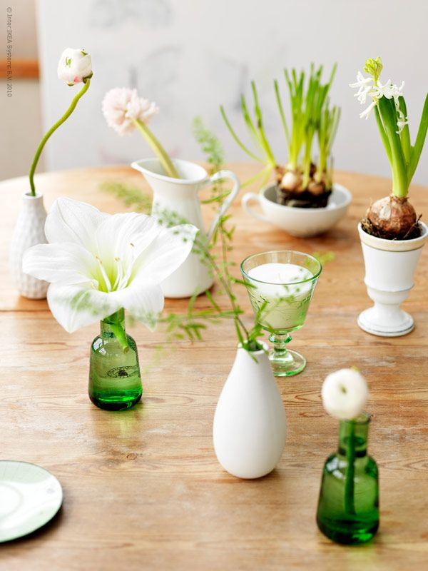 Ikea Hemma Blog Flowers Pinterest Tablescapes Spring And Flowers