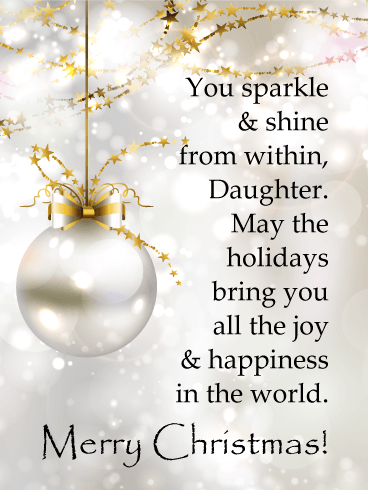 Pin on Christmas Cards for Daughter