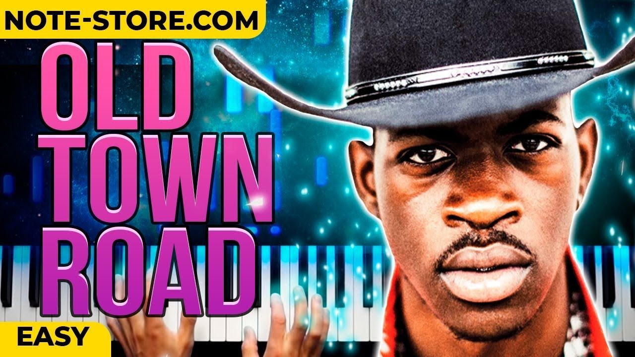 Lil Nas X Old Town Road Piano Tutorial Easy Instrumental