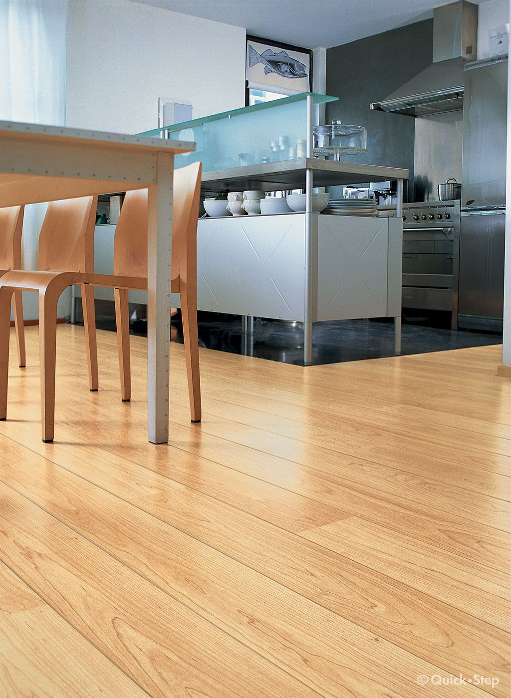 Quick-Step Perspective 'Natural Varnished Maple, Planks