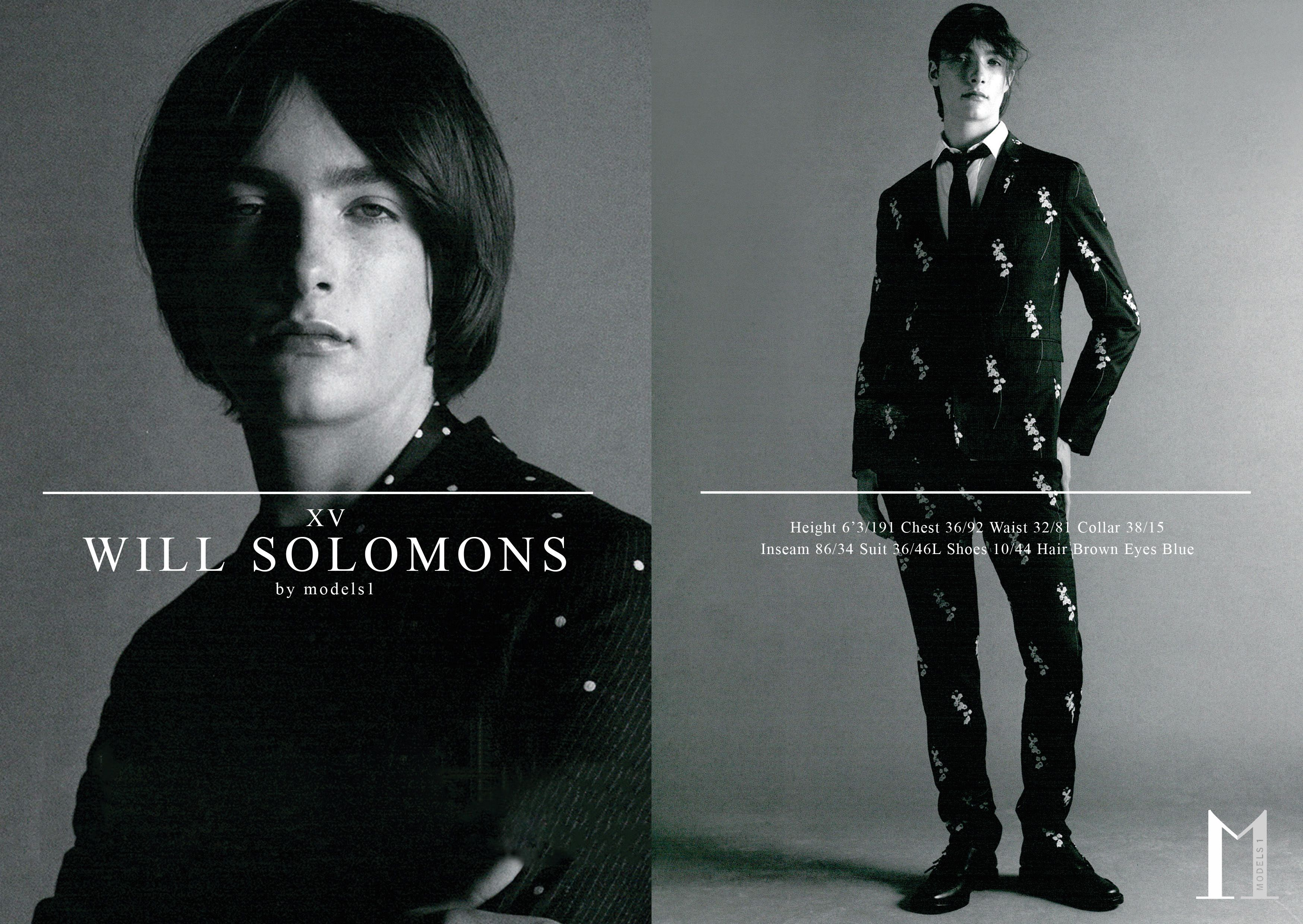 Will Solomons  LCM — Show Packages A/W 15