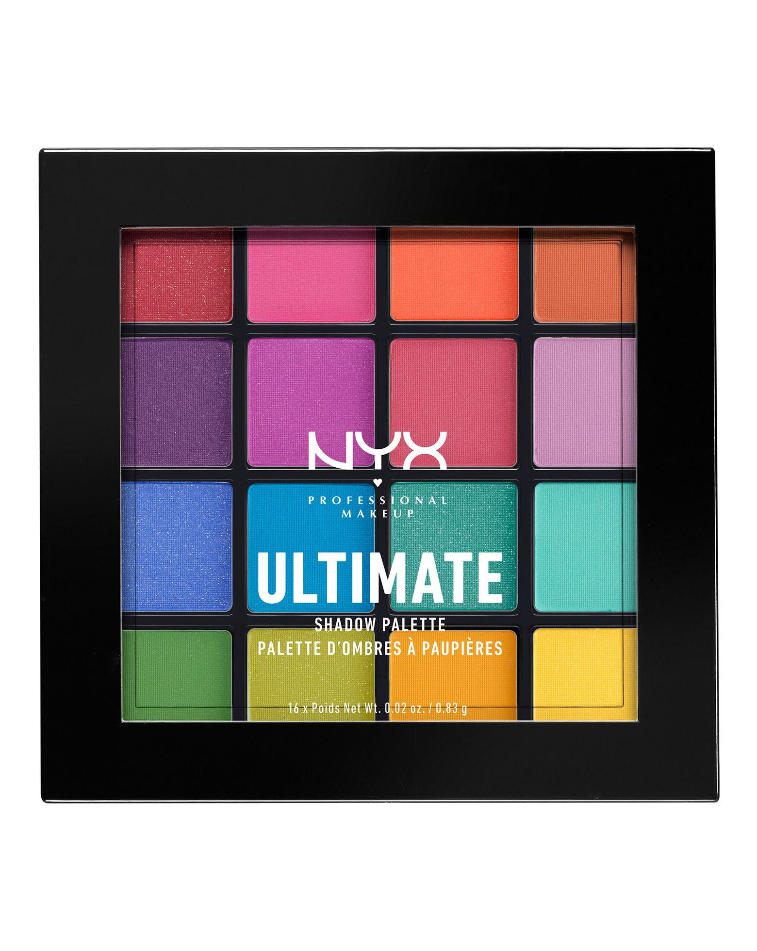 Ultimate Shadow Palette Brights by NYX Professional