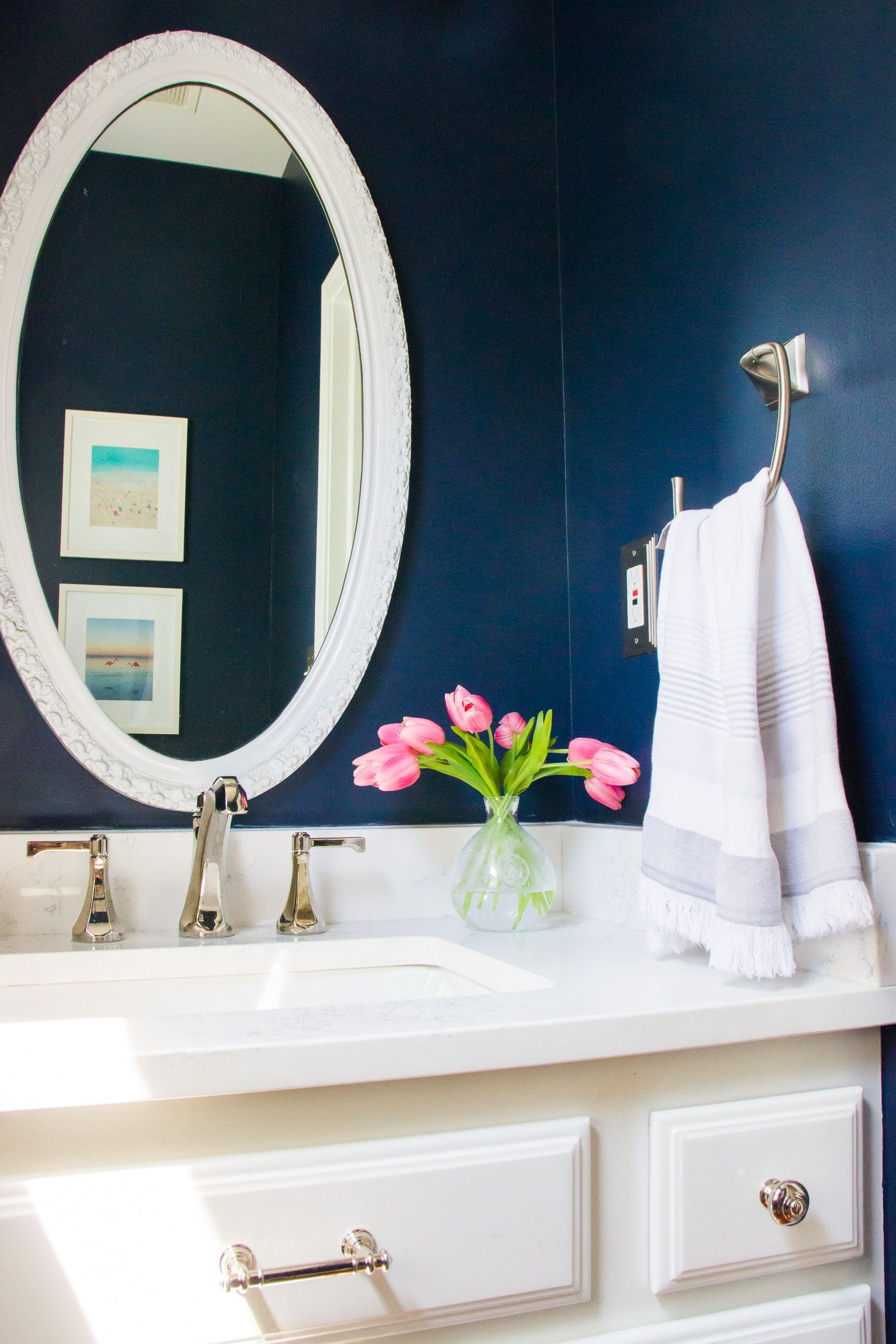 Lessons Learned From Our Powder Room Makeover - Shining On