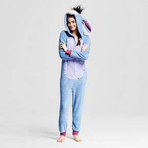 6213f13bdc91 LOVEE THIS❤ Women s Disney Eeyore Hooded Union Suit Pajamas   Target