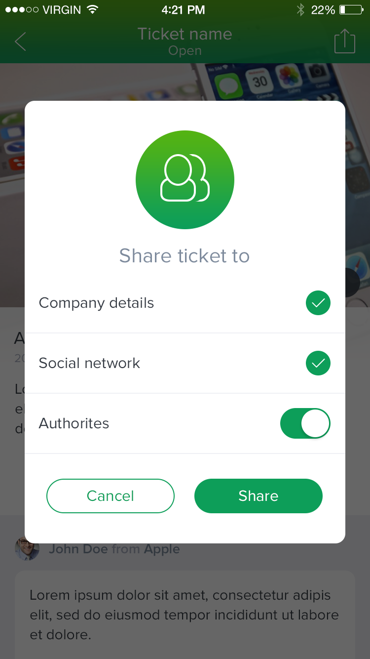 Tickets share | Mobile_UI/UE for iOS | Pinterest | Ui ux, Mobile ui ...