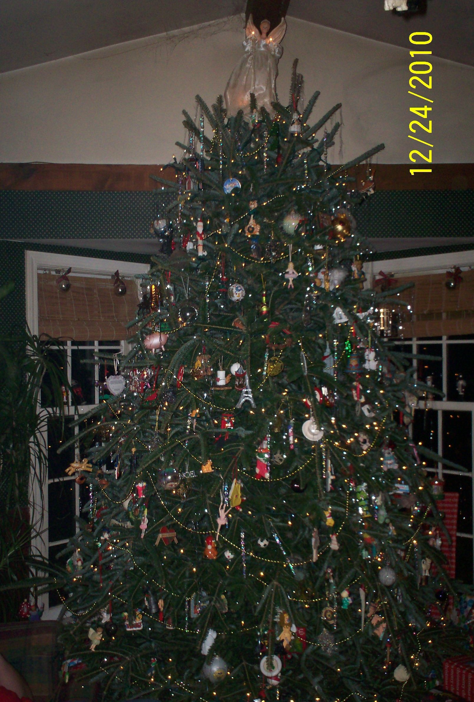 I Wish We Could Keep Our Christmas Tree All Year And I Would Dust More Often Christmas Tree Tree Holiday Decor