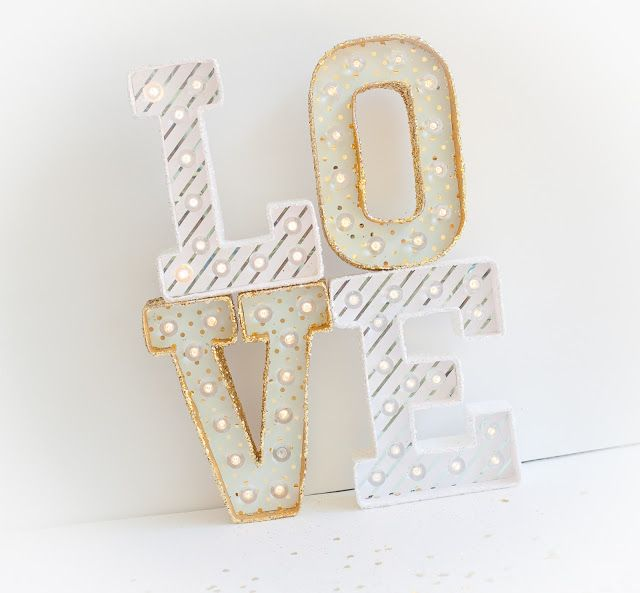 i love this marquee love idea for a wedding or gift idea available at hobbylobby by lindsaybateman for heidiswapp