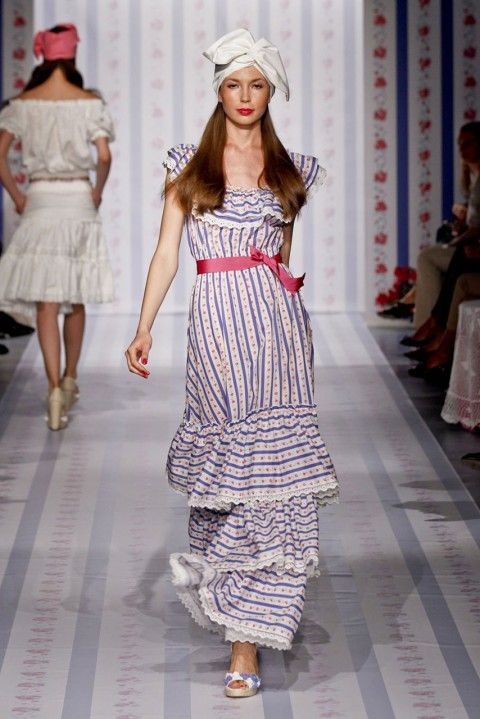 Luisa Beccaria - Milan Fashion Week Spring Summer 2013 - Marie Claire - Marie Claire UK