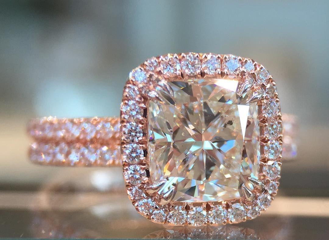 Pink gold 🌸 rosegold engagementring beautiful