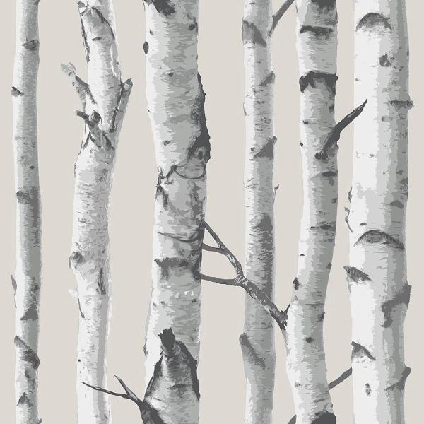 Nuwallpaper Birch Tree Vinyl Strippable Wallpaper Covers 30 75 Sq Ft Nu1650 The Home Depot In 2021 Birch Tree Wallpaper Tree Wallpaper Bedroom Tree Wallpaper
