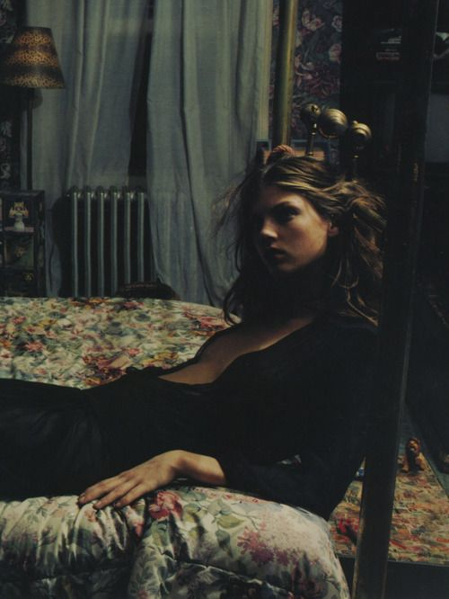 Angela Lindvall by Mario Sorrenti