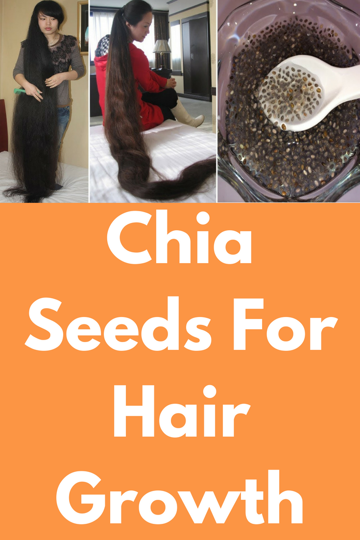 Chia Seeds For Hair Growth Today I Will Show One Miracle Hair Growth Remedy Which Chia Seeds Hair Remedies For Growth Miracle Hair Growth Hair Mask For Growth