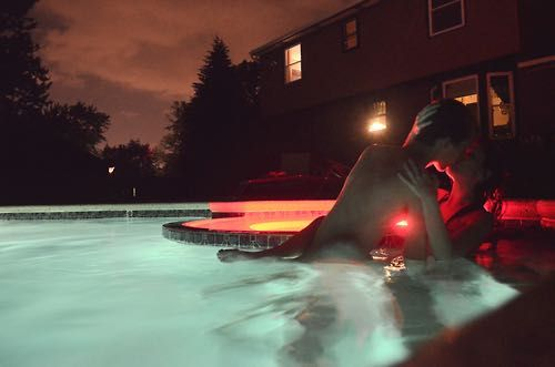 Crush Imagines - Pool Fun At Night | lives ruined, blood shed