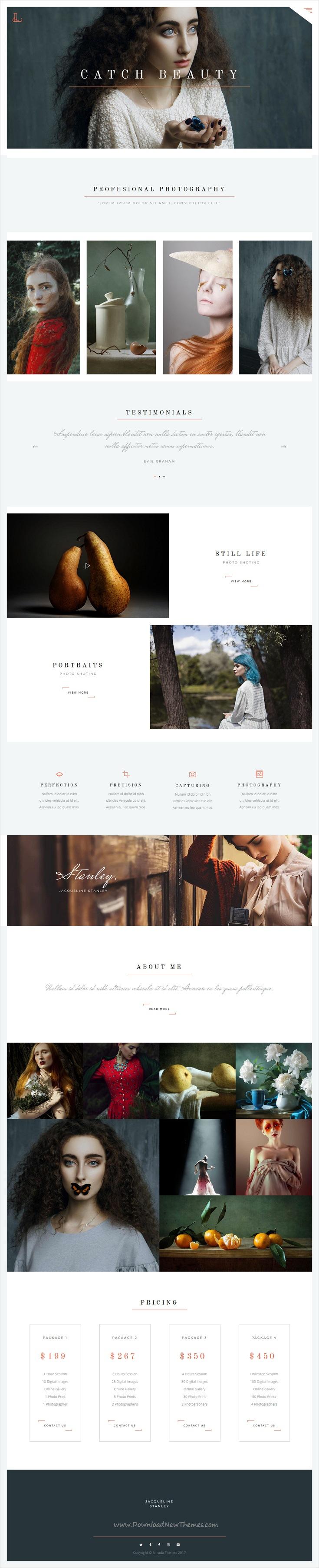 Siena - Aesthetic Photography Portfolio Theme for