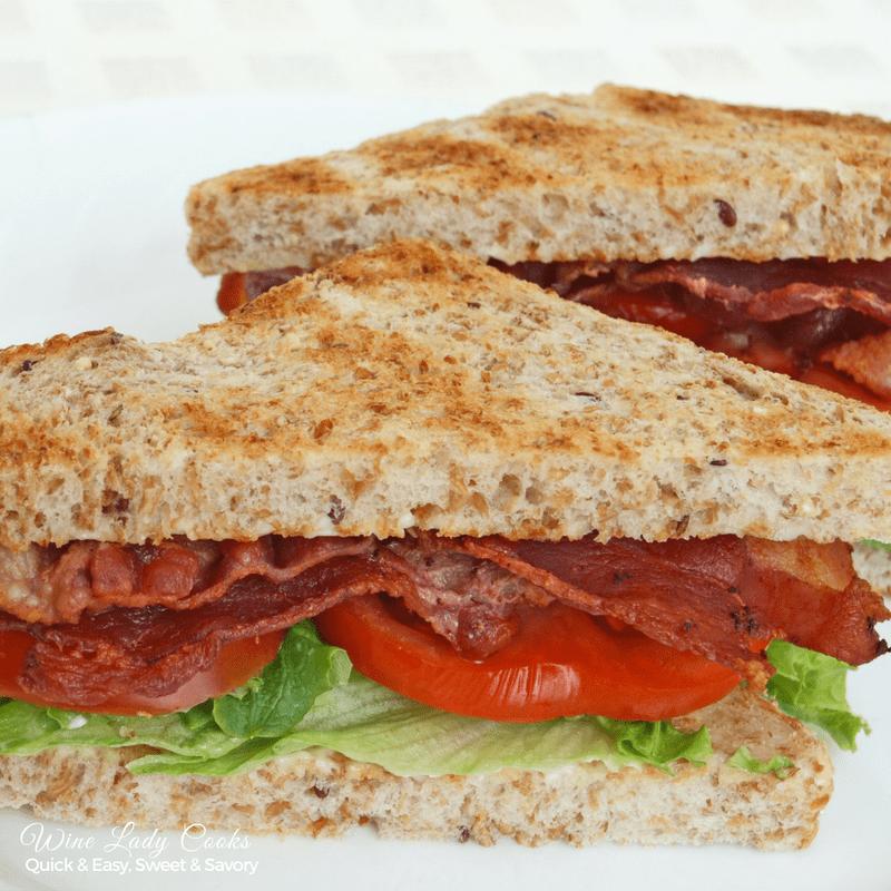 air fryer bacon lettuce tomato sandwich recipe Recipe