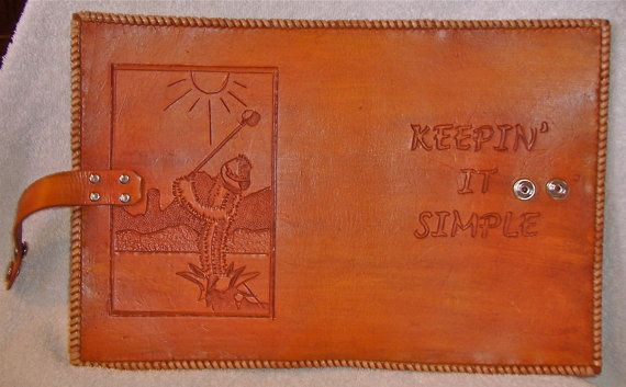 REDUCED PRICEAlcoholics Anonymous Big Book by BomberoLeatherworks, $60.00