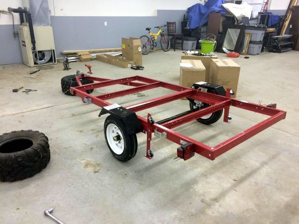 harbor freight folding trailer tips tricks motorcyclists