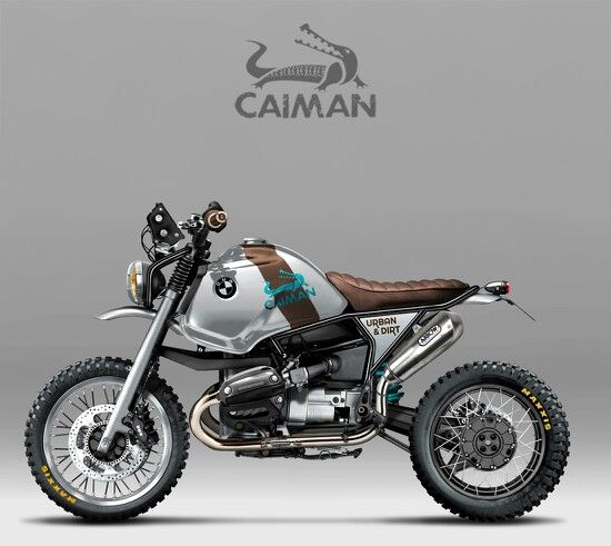 Caiman Urban n Dirt's little Urban Pony BMW GS Custom