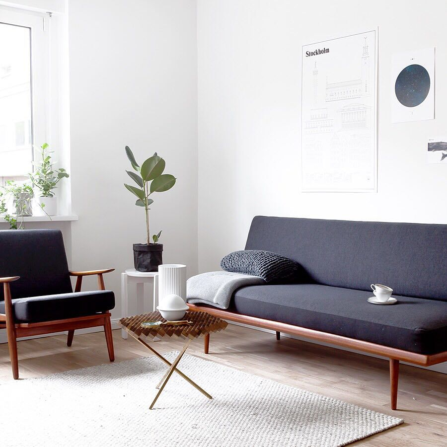 "Danish Modern Living Room: Sarah Van Peteghem Op Instagram: ""You Can Read All About"