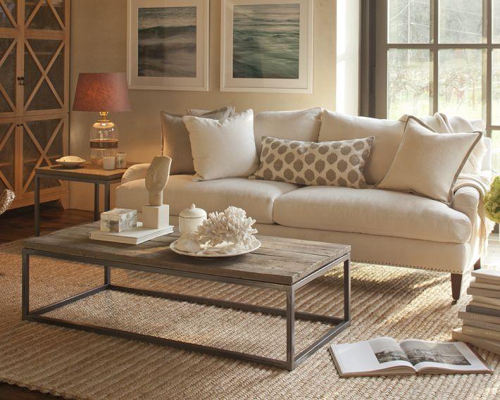 Pierce Sofa Beige Living Rooms Living Room Designs Coastal