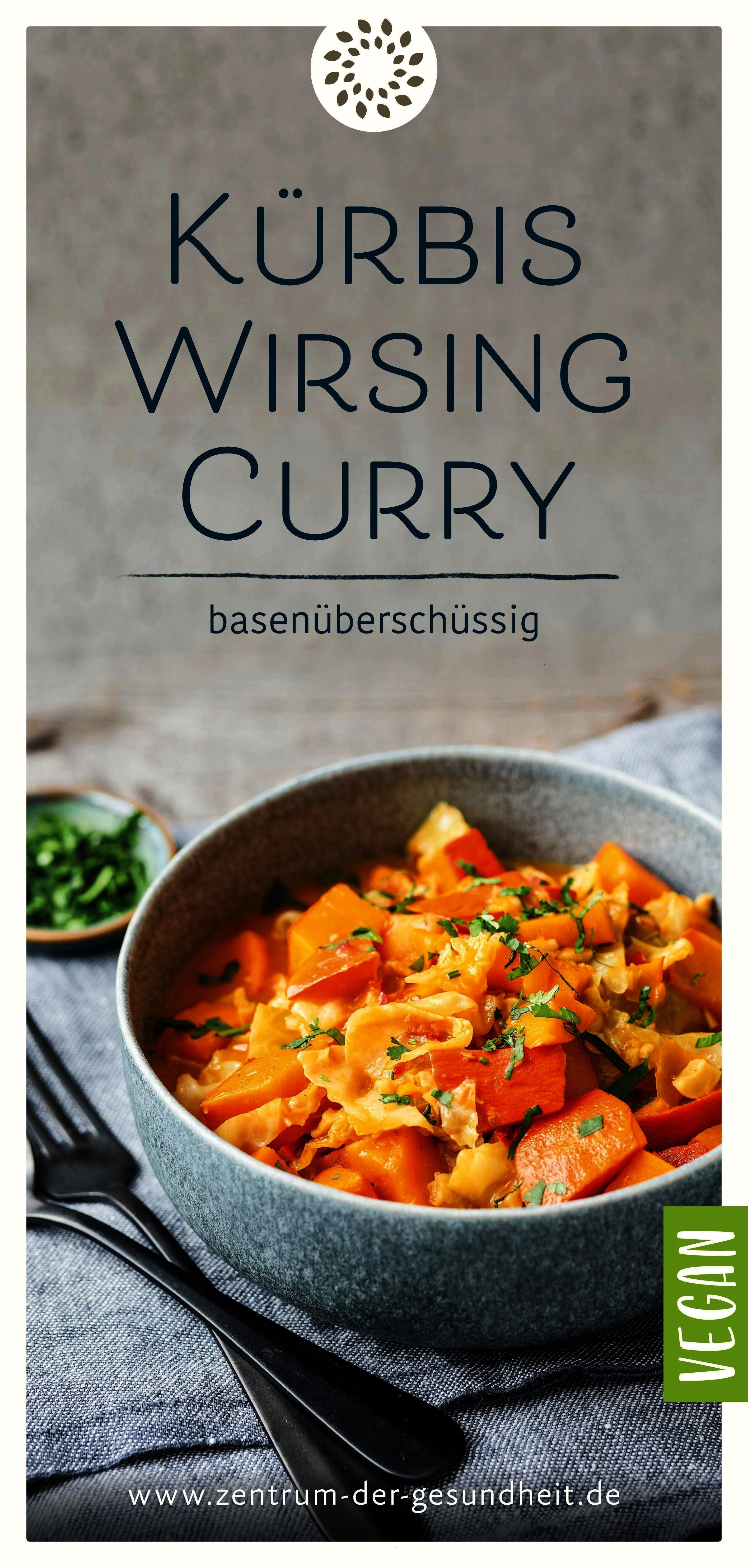 curry - excess base -  The pumpkin and savoy curry is easy to prepare and ready to serve in just 30