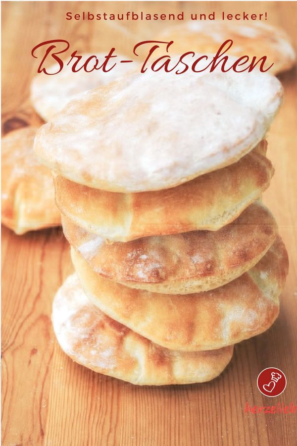 Bread pocket recipe – quick, self-inflating pita bread with only 4 ingredients …
