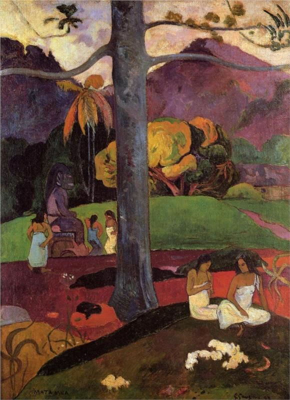 For the loss of virginity by paul gauguin