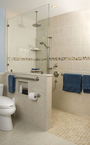 UNIVERSAL DESIGN BATHROOM | Kitchen Bath Residential Universal Design  Meritorious The New Bathroom .