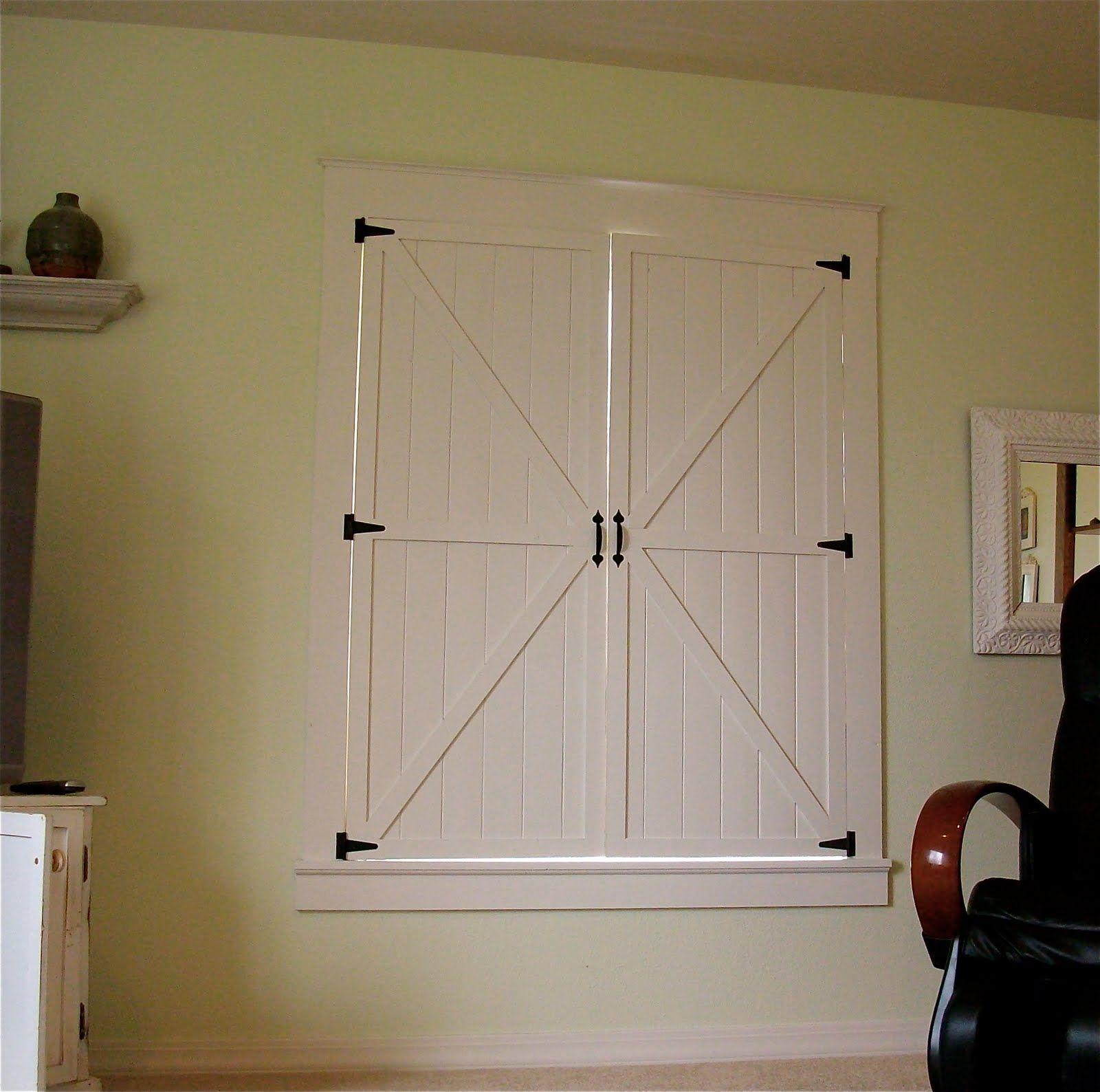 Interior Barn Doors Diy Shutters Plantation