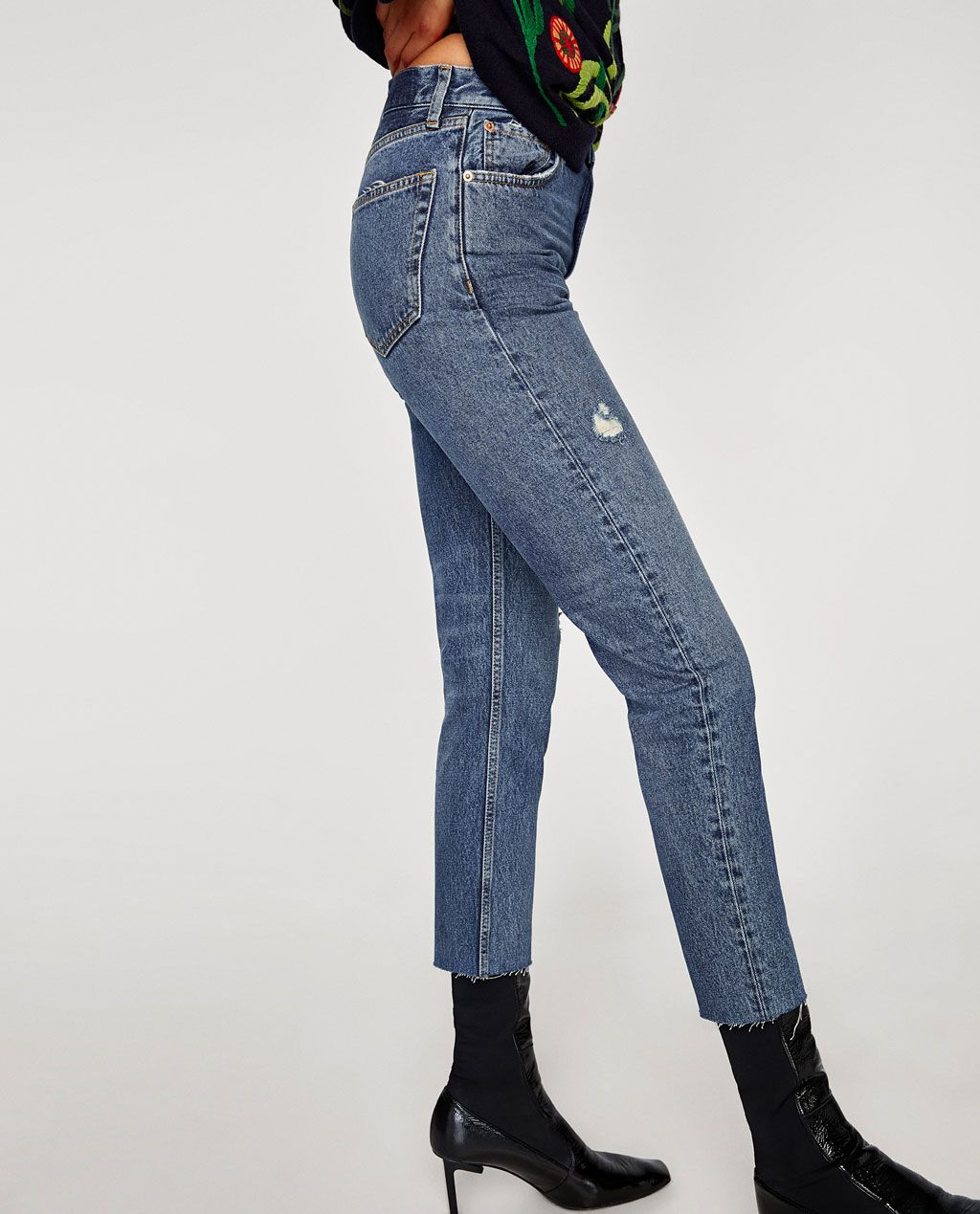 5b6104b4 THE VINTAGE HIGH WAIST JEANS IN ROSE BLUE-High waist-JEANS-WOMAN | ZARA  United States