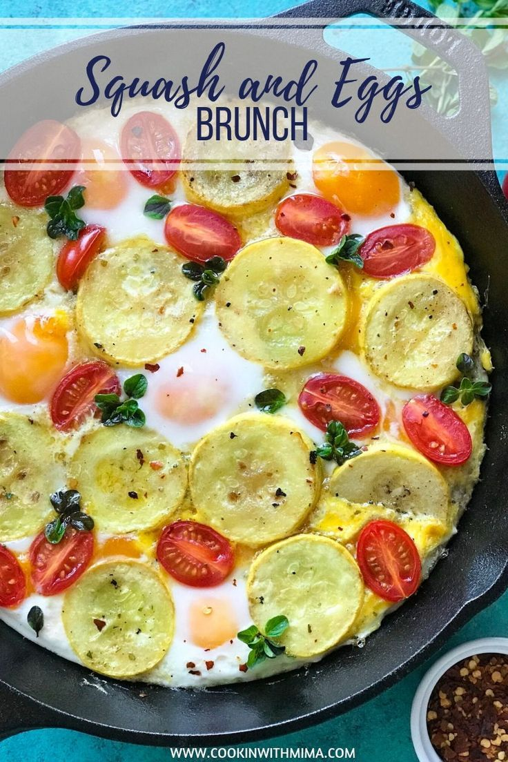 Squash and Eggs Brunch If you are ever looking for a delicious brunch recipe, thisSquash and Eggs Brunchrecipe might be a good option. It's easy to make and it can also be prepped into a lunch box for work.