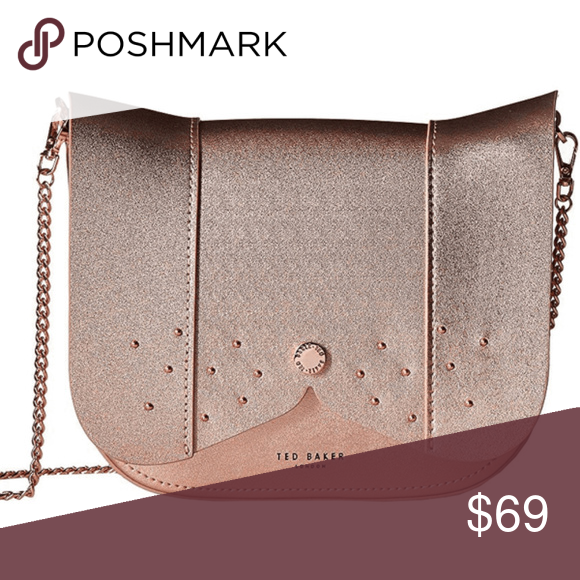 02a456357f Rose Gold · Ted Baker Women s BARKLEY Dog Cross Body Bag Adding style to  any occasion
