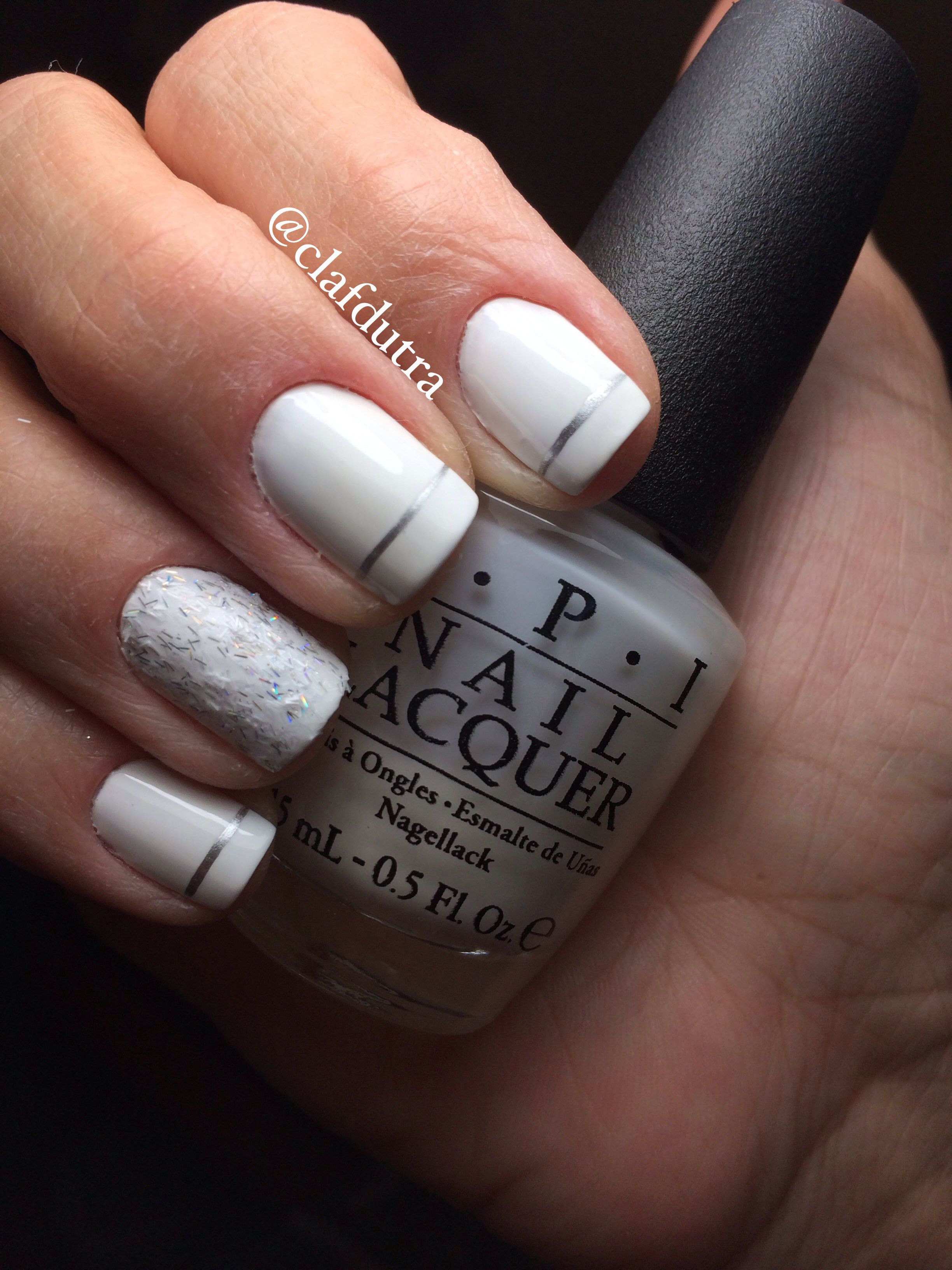Alpine snow OPI and peak of chic Essie @Soraya Abreu | Claudia\'s ...