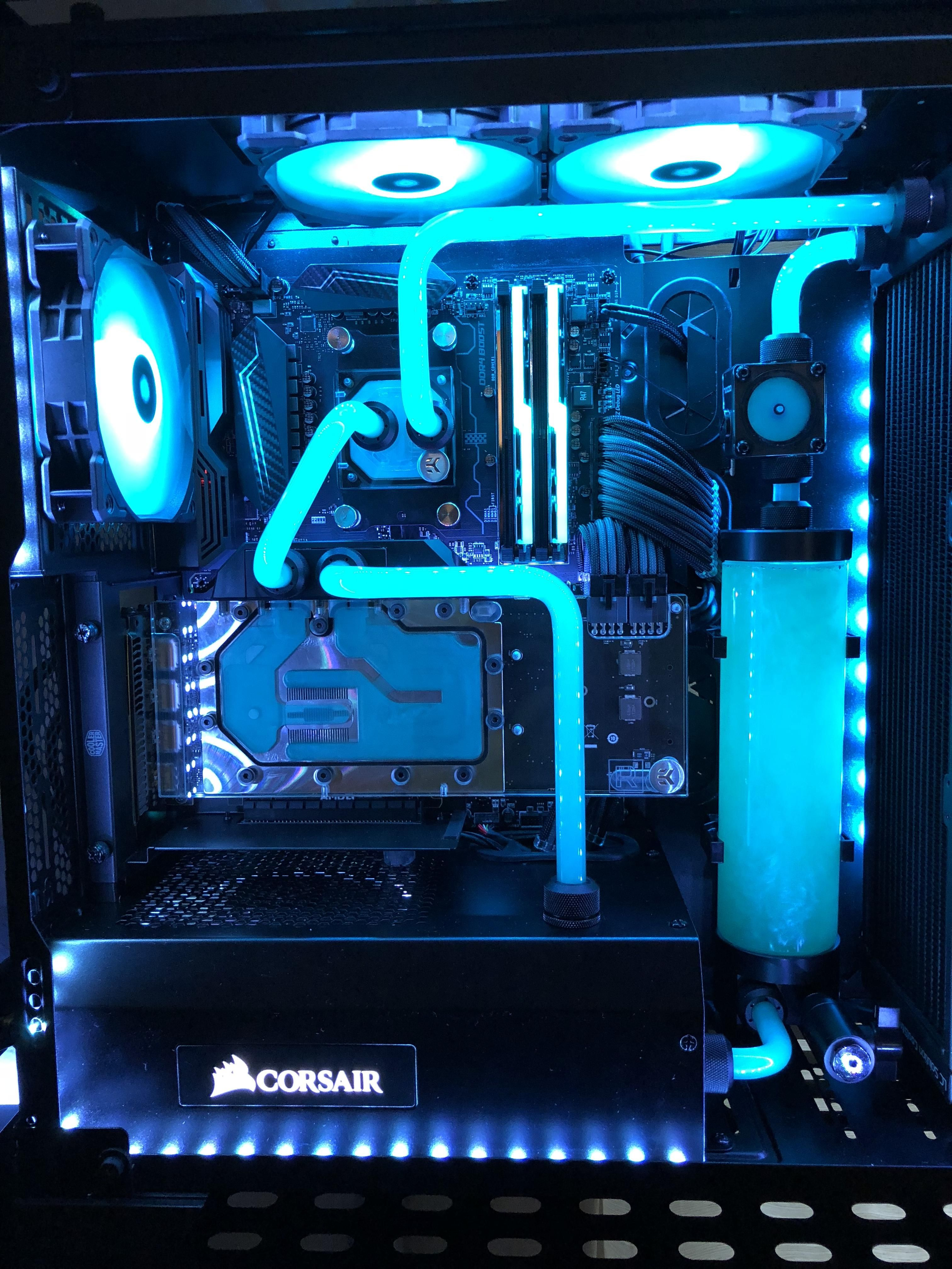 Top Scoring Links Watercooling Custom Computer Computer Setup