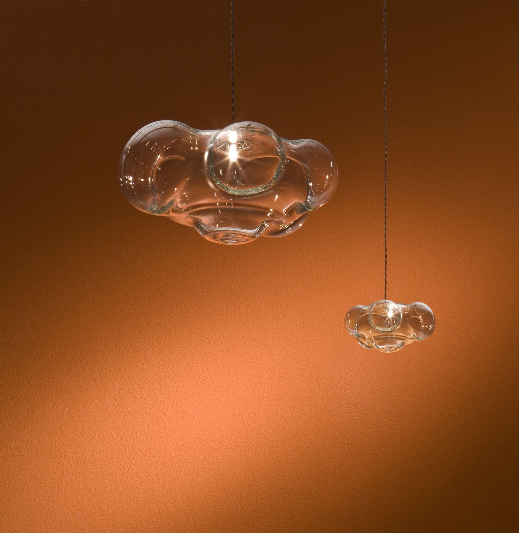 cloud lighting fixtures. Nuvola - Cloud Suspended Lighting Fixture. Design Pepe Tanzi. Blown Glass. Made In Fixtures