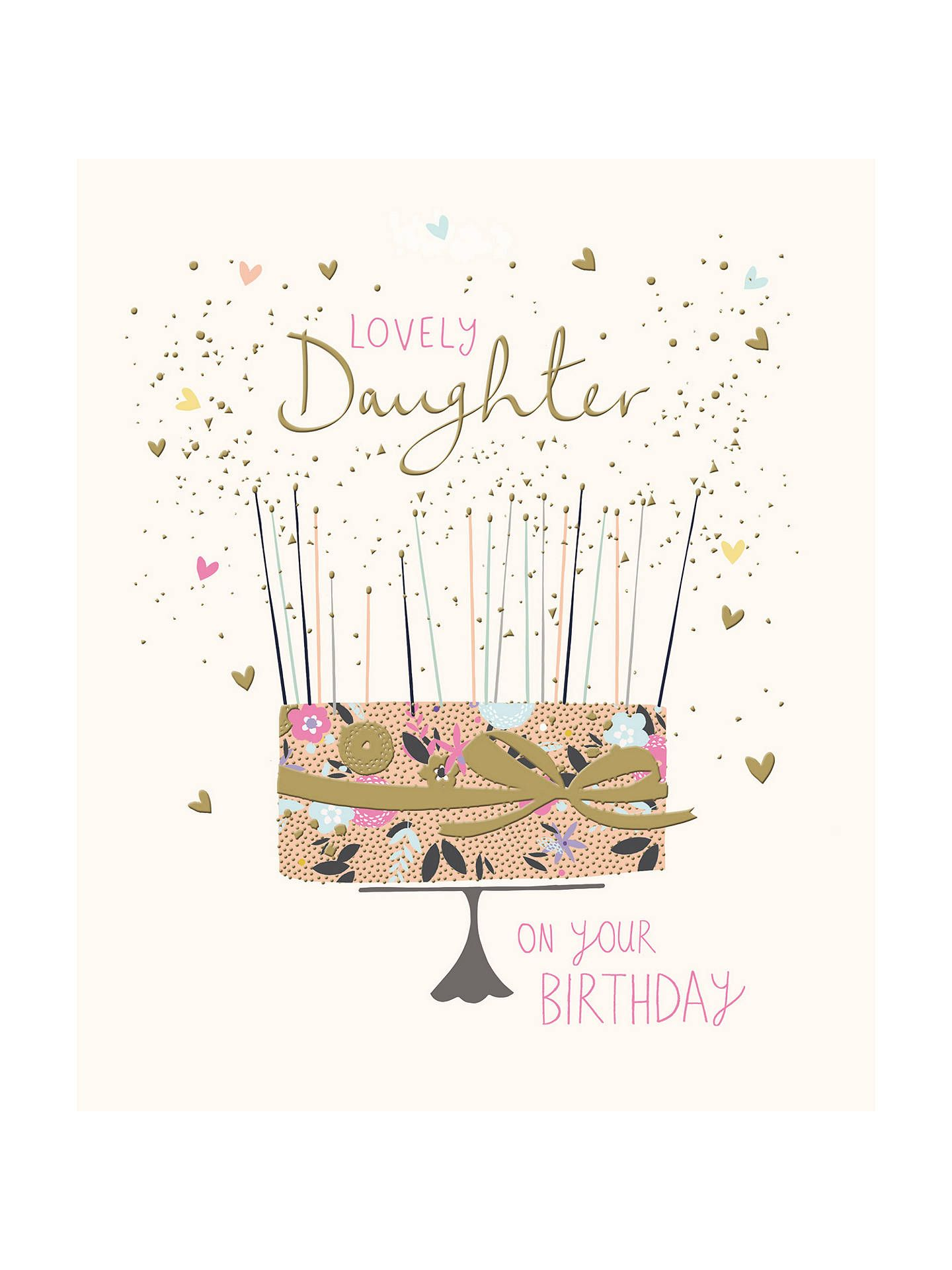 BuyWoodmansterne Amazing Daughter Birthday Card Online At Johnlewis