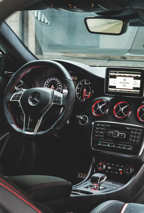 Amazing Dashboard Of Mercedes Benz A45 Amg Luxury Cars Luxury
