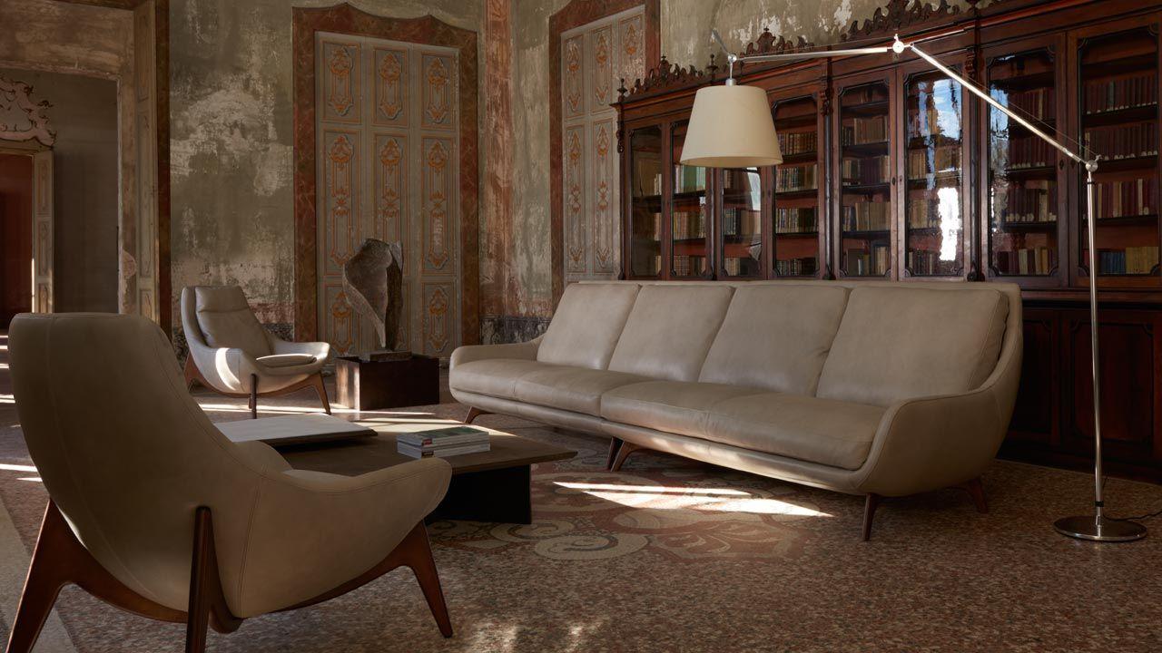 Collezione degŌ design gorini divano conchiglia gorini divani