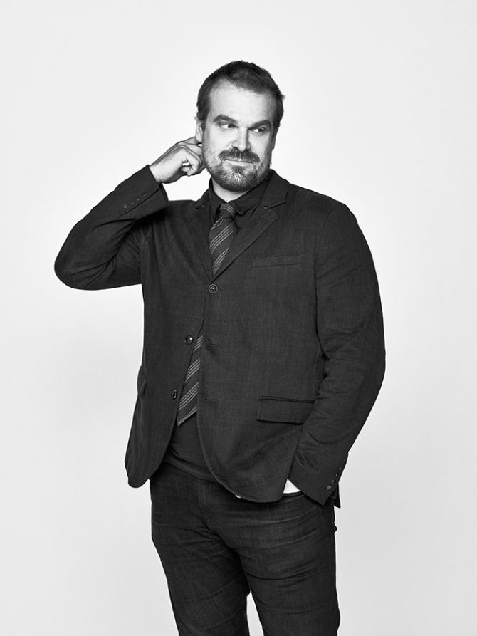 """David Harbour Photographed for the Remote Controlled Podcast Dan Doperalski for Variety. """""""