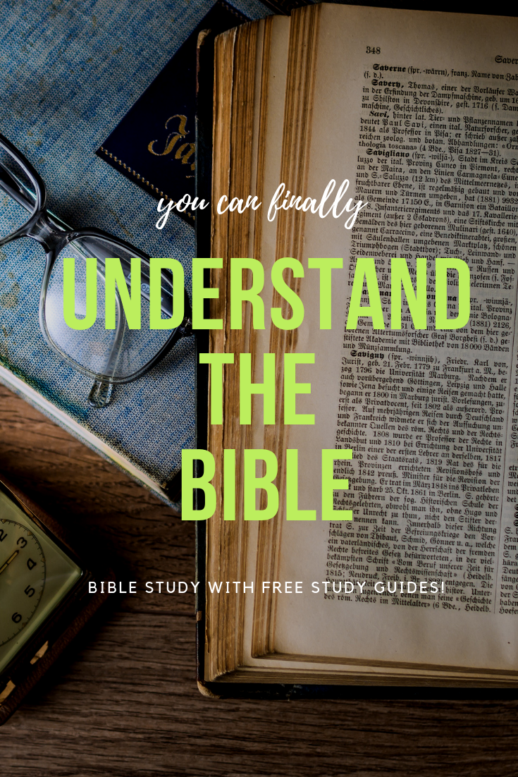 You can finally understand the bible with this easy beginners Bible