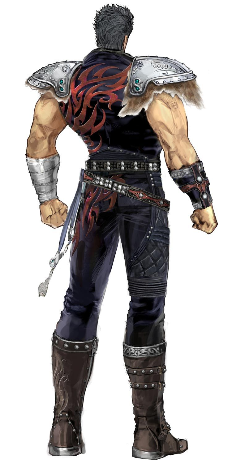 Kenshiro Backside from Fist of the North Star: Ken's Rage 2