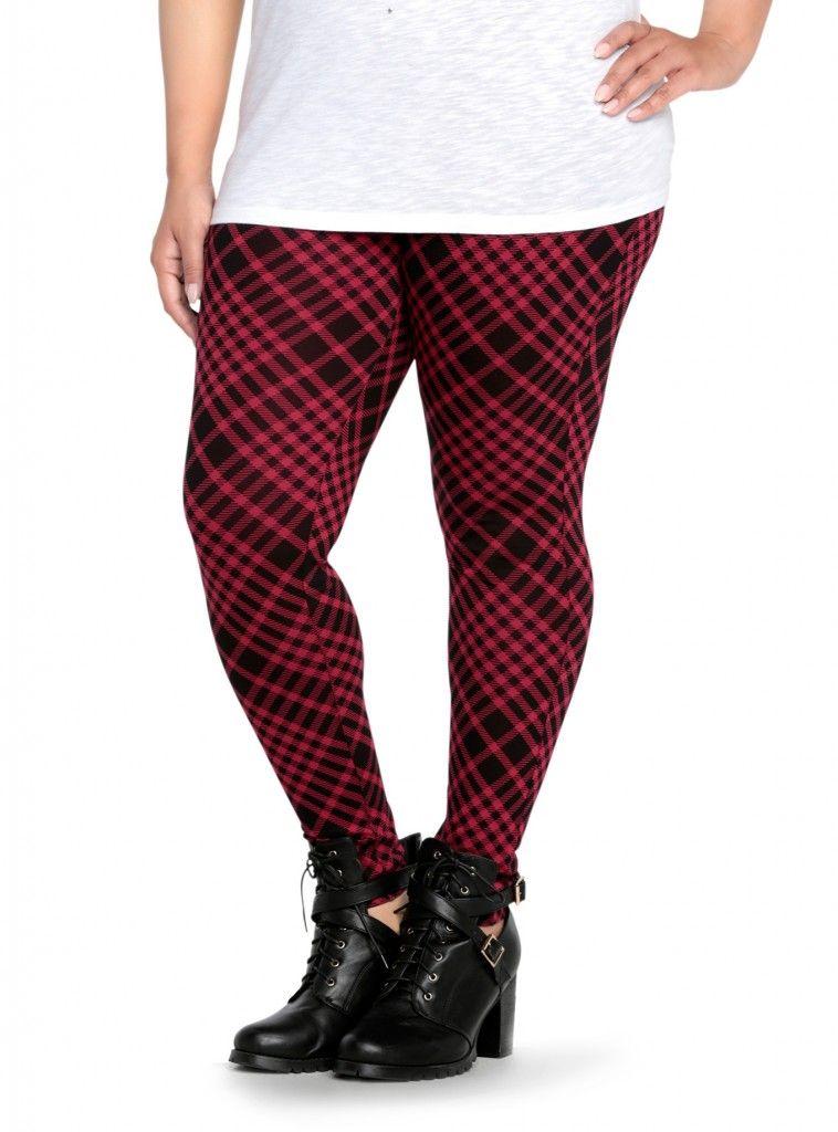 d449c27b5a1cc Outlander inspired fashion  Torrid Plaid Print Leggings
