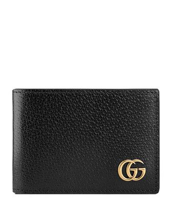 2f7653522864 GG+Marmont+Leather+Bi-Fold+Wallet+by+Gucci+at+Neiman+Marcus. | Bags ...