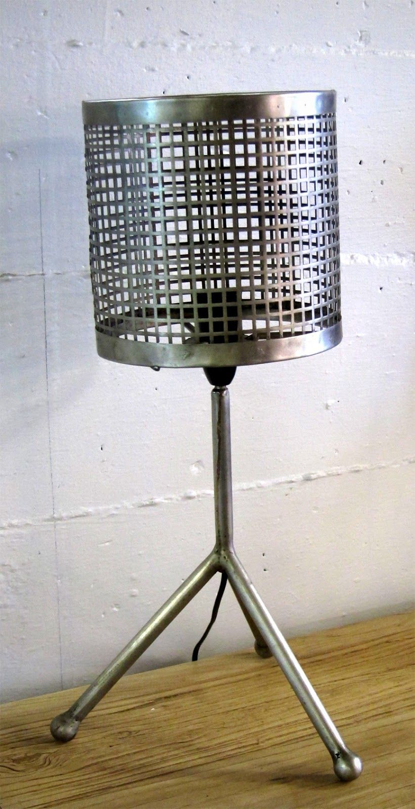 Wire Mesh Table Lamp Great For The Bedside Or Side Table Via Koko Classics Lamp Side Table Table Lamp