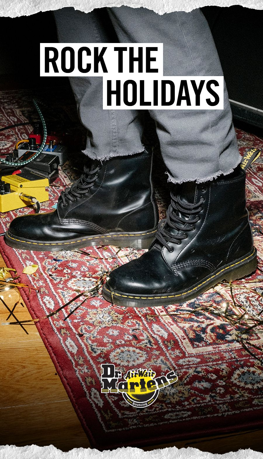 Wrap up a pair of Docs and give him a gift that's tough