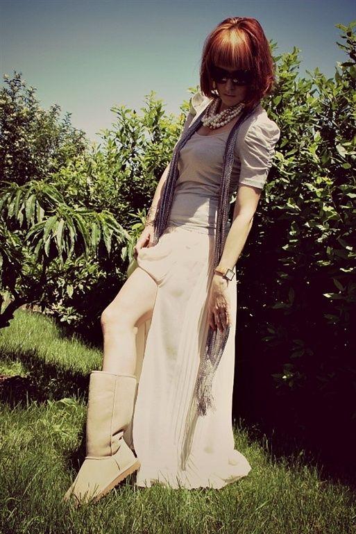 Con Skirt E Ugg Shopping Bootscyberweek Maxi Outfit 8nkP0wO