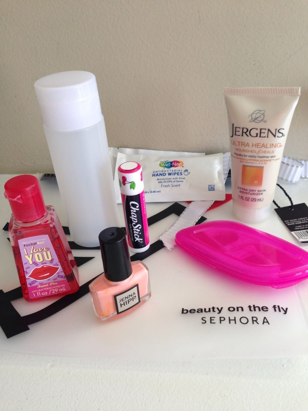 New Sephora Beauty On The Fly TSA Bag With 7 Must Have Travel ...
