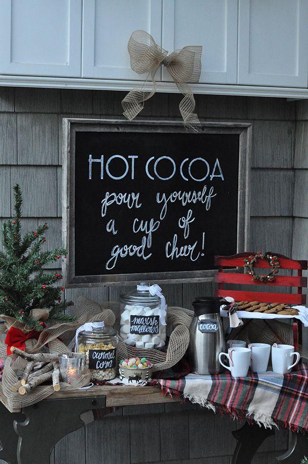DIY Chalkboard Wreath for Christmas and Beyond Outdoor christmas