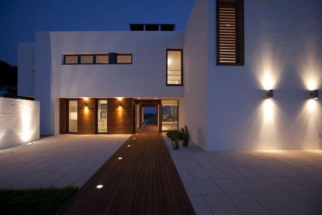 casa minimalista iluminacion hogar