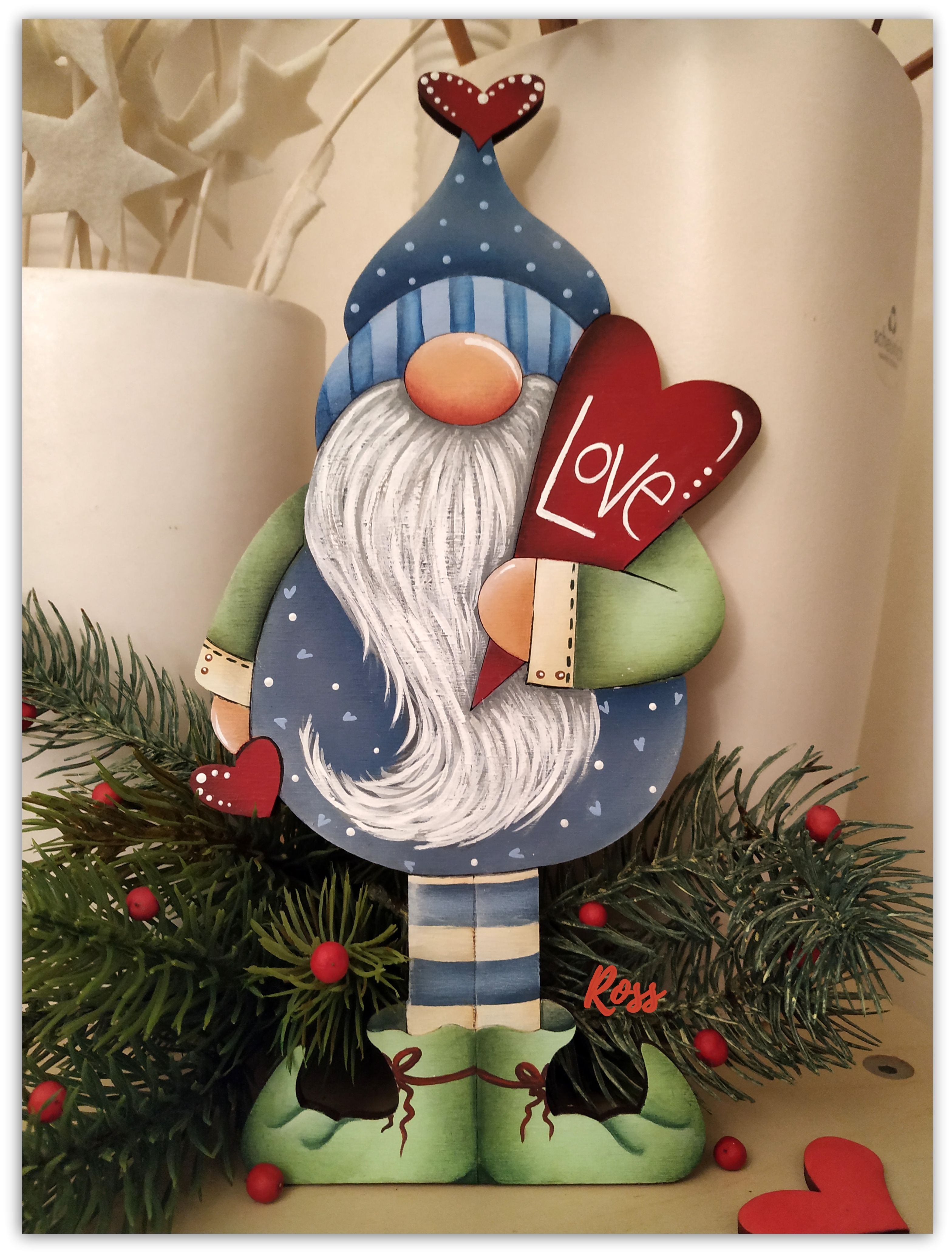 Is Ross Open On Christmas 2020 Gnome_Kind_of_Love design Reneè Mullins painted by Ross in 2020
